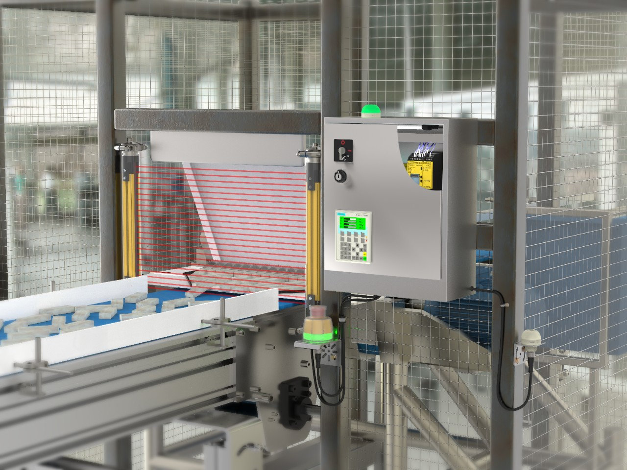 Safety in Washdown Environments: Meat Slicing Machine