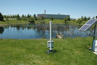 Monitoring Retention Pond Levels
