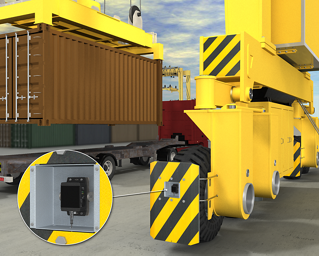 Rubber Tire Gantry (RTG) Collision Avoidance