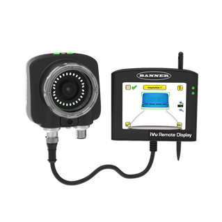 iVu Color Vision Sensor Now Available for Color Inspection