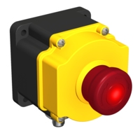 Flush-Mount Emergency Stop Button
