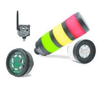 Banner Engineering TL70 Wireless Tower Light Provides Reliable Remote Monitoring and Visual Status Indication