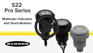 S22 Pro Series Indicators and Touch Buttons
